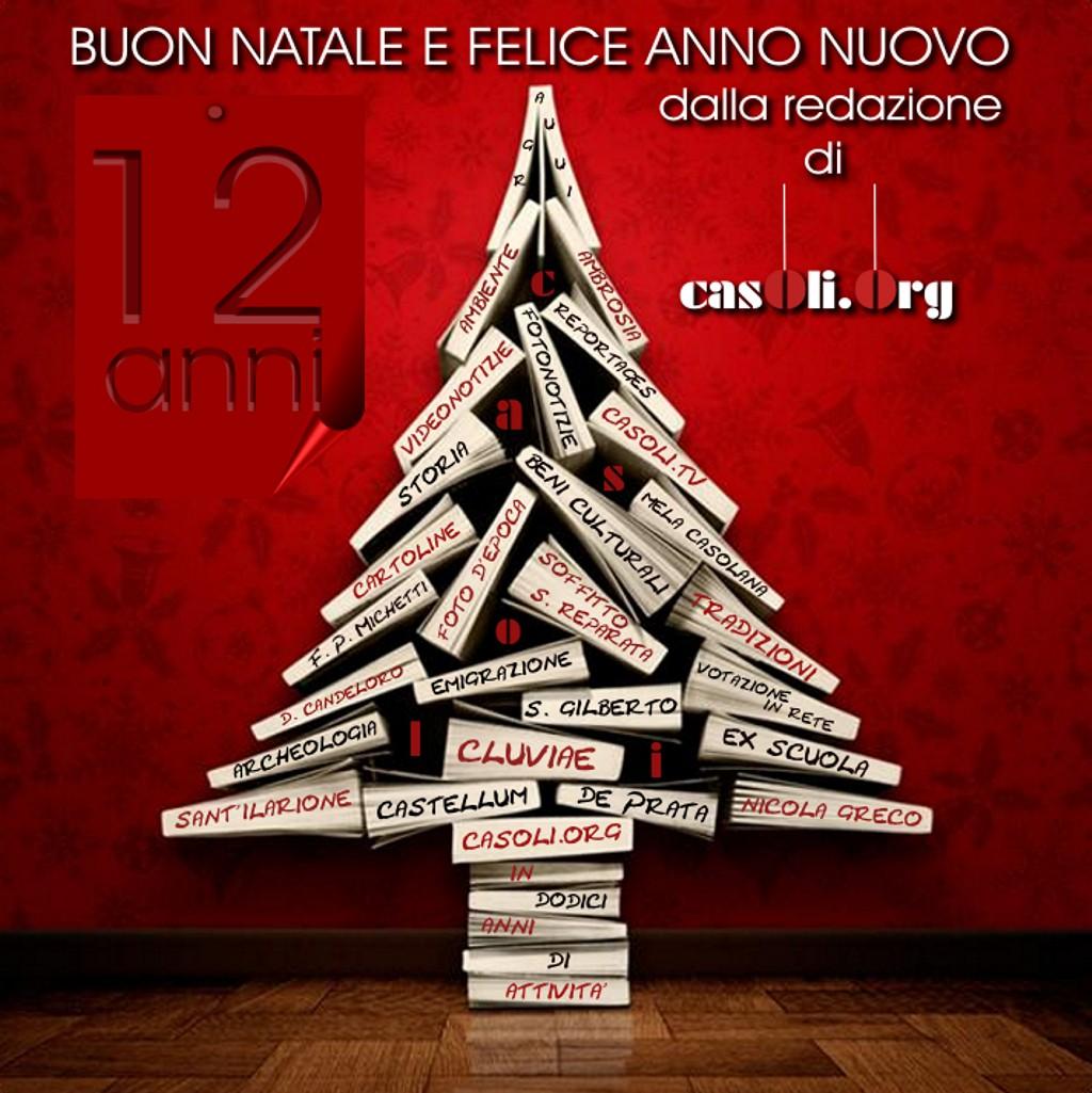Link Di Buon Natale.Buon Natale E Felice Anno Nuovo Le News Di Casoli Org