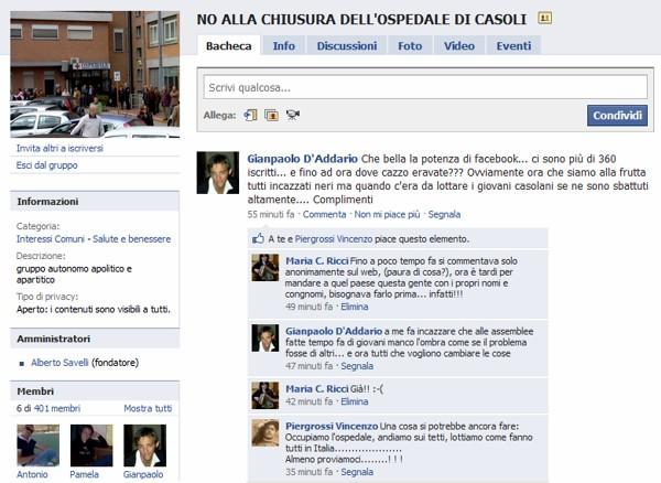 Sulla Morte Dell Ospedale Di Casoli Si Mobilita Anche Il Mondo Di Facebook Le News Di Casoli Org