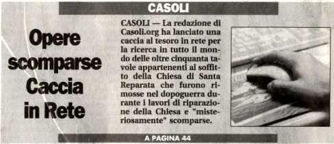CLICCA QUI PER LEGGERE L'INTERO ARTICOLO