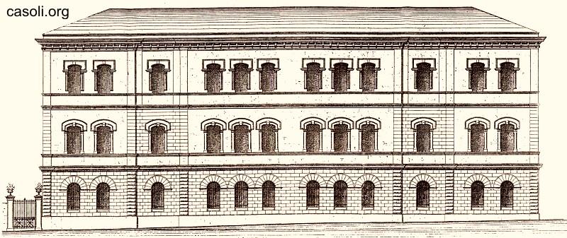 Cenni sororici sul palazzo soclastico for Piani di palazzo con piscina coperta